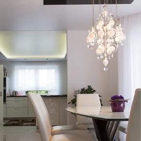 Spanndecken Wohnzimmer Beleuchtung